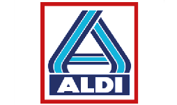 Logo van Run for KiKa sponsor Aldi